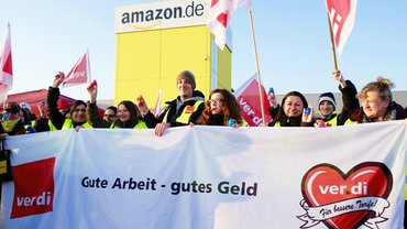 Amazon Streik in Graben 24.03.2015