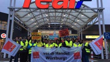 Streik real,- Würzburg 2018