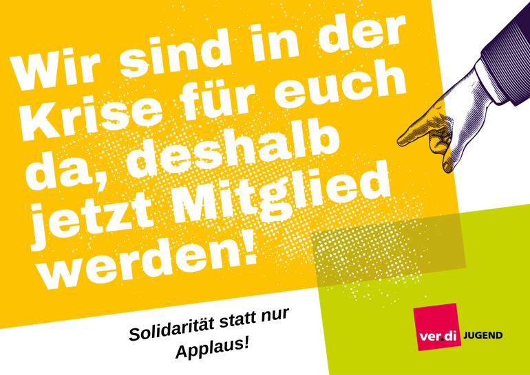 Solidarität statt nur Applaus!