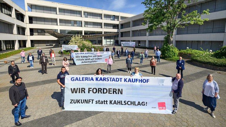 Die ver.di-Bundestarifkommission für Galeria Karstadt Kaufhof hat eine klare Position.